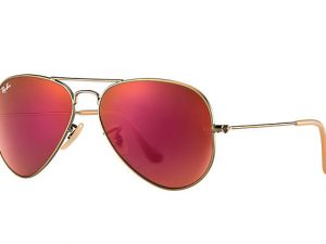 AVIATOR FLASH LENSES RB3025 167/2K 58-14